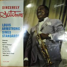 Louis Armstrong - <b>Louis Armstrong Sings</b> Standards (1961, Vinyl ...