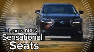 <b>2016</b> Lexus NX 300h Incredibly Comfortable and <b>Convenient</b> Seats ...