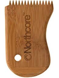 <b>Wax</b> Comb Bamboo Northcore ECO <b>Natural Surfboard Wax</b> ...