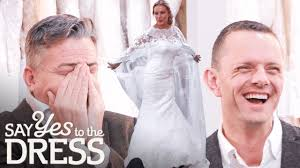 Entourage Laughs At Bride's Wedding Dress Cape | <b>Say Yes To</b> The ...