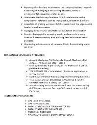 trainee quantity surveyor resume   sales   surveyor   lewesmrsample resume  land surveyor resume sles