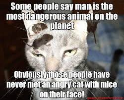 Some people say man is the most dangerous animal on the planet ... via Relatably.com