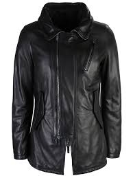 Кожаная <b>куртка GIORGIO</b> ARMANI