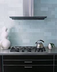 Interesting Ann Sacks Glass Tile Backsplash Beautiful Glossy Goes Up The And Inspiration Decorating