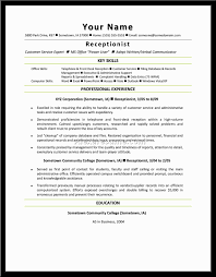 sample resume for front desk medical receptionist sample sample resume for front desk medical receptionist front desk receptionist resume sample hotel front desk receptionist