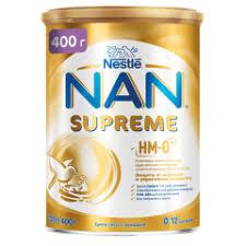 Cухая <b>молочная смесь NAN Supreme</b> от 0 месяцев 400 г 51038 ...