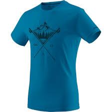 <b>Футболка Dynafit</b> Transalper <b>Graphic</b> мужская синяя - купить, цена ...