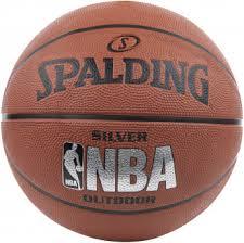 <b>Мяч</b> баскетбольный <b>Spalding NBA Silver</b> Коричневый цвет ...