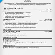 resume for painters   sales   painter   lewesmrsample resume  resume sles for painters at eessayscompl