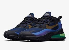 <b>Nike Air Max 270</b> React Deep Royal Blue Gold AO4971-005 ...