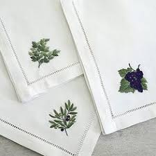 hand embroidery napkin, View hand embroidery napkin, quang ...