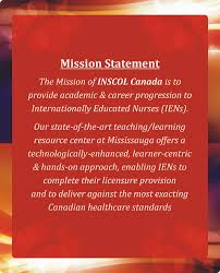 inscol mission statement nursing programs in ca uk uas aus nz