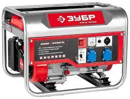 <b>Бензиновый генератор ЗУБР ЗЭСБ</b>-<b>3500</b> (3000 Вт)