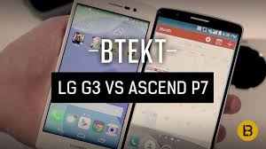LG G3 vs Huawei Ascend P7 - YouTube
