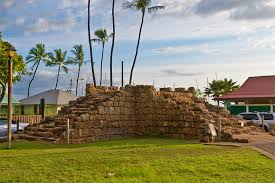 Old Fort Walls of Lahaina, Maui Wedding,