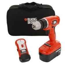 BLACK+DECKER 18-Volt NiCd Cordless Drill with Stud Sensor ...