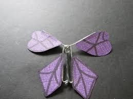 How to Make a Twirling Paper <b>Butterfly</b>: 19 Steps (with Pictures)
