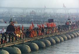 this essay is about the ganges river its history and how it is english hindu pilgrims go over the ganga river in the 2001 kumbh mela