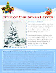 9 best images of holiday newsletters christmas microsoft word christmas newsletter templates