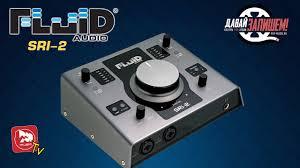<b>FLUID AUDIO SRI</b>-<b>2</b> дебютная звуковая карта от <b>Fluid Audio</b> ...