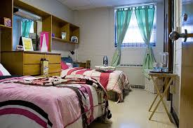 compact vanity unit in modern college dorm room idea and trendy blue pole pocket curtain feat bedroom compact blue pink