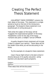 Your Thesis Statement is the Answer  FAMU Online