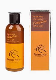 <b>Сыворотка</b> для лица Farm Stay с <b>лошадиным маслом</b> для сухой ...