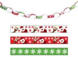 Amscan International 995339 <b>Christmas Paper</b> Chain Printed ...