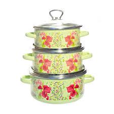 <b>Набор эмалированной посуды</b> СтальЭмаль Мозаика 8КB051S ...