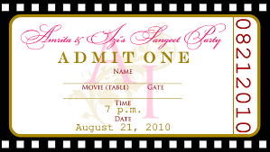 movie ticket invitation templates cloudinvitation com ticket invite template movie ticket party invitation template