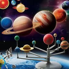Hot <b>Fashion Solar System</b> Planetarium Model Kids Glow In The Dark ...
