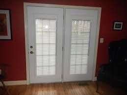 patio doors with blinds between the glass: andersen french doors exterior  good and useful ideas for front door blinds interior design