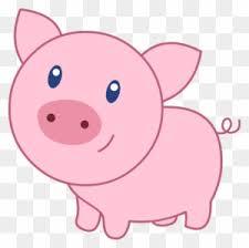 <b>Cute Pig</b> Clipart, <b>Transparent</b> PNG Clipart Images Free Download ...