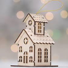 Creative Luminous <b>Christmas</b> Wooden House Sale, Price & Reviews