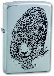 Купить <b>Зажигалка ZIPPO</b> Leopard Satin Chrome <b>205 LEOPARD</b> ...