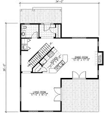 Farmhouse   Metal Roof   PD   nd Floor Master Suite  CAD    Floor Plan
