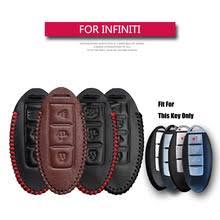 Кожаный <b>чехол для ключа</b> автомобиля KUKAKEY, для Infiniti Ex35 ...