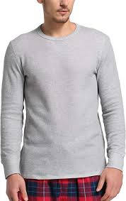 CYZ <b>Men's Cotton</b> Rib <b>Knit</b> Long Sleeve Crew Neck <b>T</b>-<b>Shirt</b> at ...