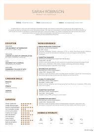 sarah robinson marketing manager cv on behance click here to get yours