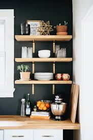 Diy Kitchen Wall Shelves Our Diy Kitchen Remodel The Brauns Ohio Wedding Photographers