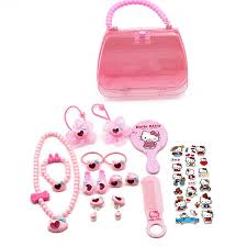 Hot Sale <b>Hello Kitty Hair</b> Clips Elastic <b>Hair</b> Bands Set for Girls Acrylic ...