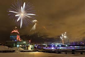 Montreal Christmas Fireworks 2018-2019