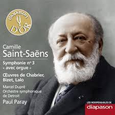 Orchestre Symphonique de Detroit - Paul Paray - Marcel Dupré. Orchestre Symphonique de Detroit - Paul Paray - Marcel Dupré Saint-Saëns : Symphonie No - 3770003441212_600
