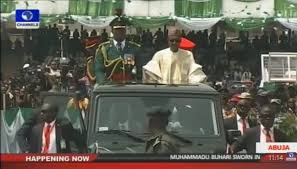 Image result for buhari's inauguration pictures