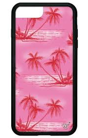 <b>Pink Palms</b> iPhone 6/7/8 Case – Wildflower Cases
