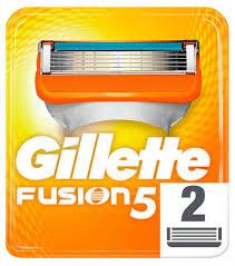 Купить <b>Сменные кассеты</b> для бритья <b>Gillette</b> Fusion, 2 шт с ...