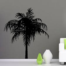 palm tree wall stickers: wall decals vinyl decal sticker art murals interior decor floral palm treechina mainland