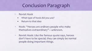 conclusion paragraph i restate thesis don t copy paste use 2 conclusion