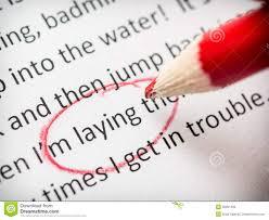proofreading essay errors stock photos image  proofreading essay errors