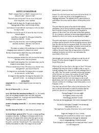 sonnet sonnets poets